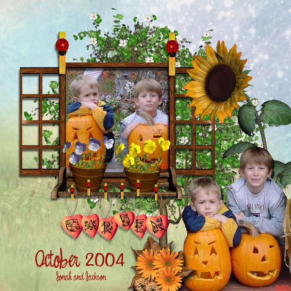 Garden October 2004