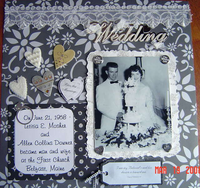 Wedding Day 50 Years Ago!