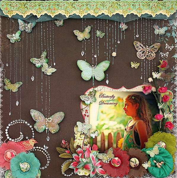 Butterfly Dreaming ~My Creative Scrapbook~