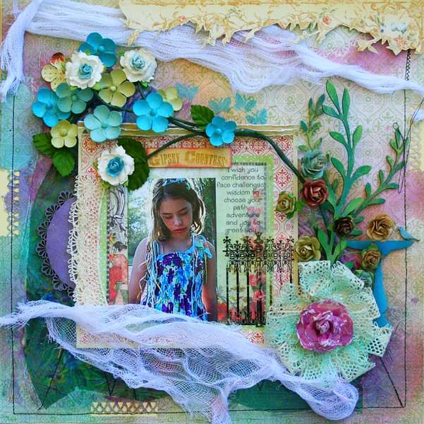 "Gypsy ---*Scrap That! October ""Bella Rosa"" Kit *"