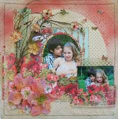 "Time for Us--*Scrap That! October ""Bella Rosa"" Kit *"