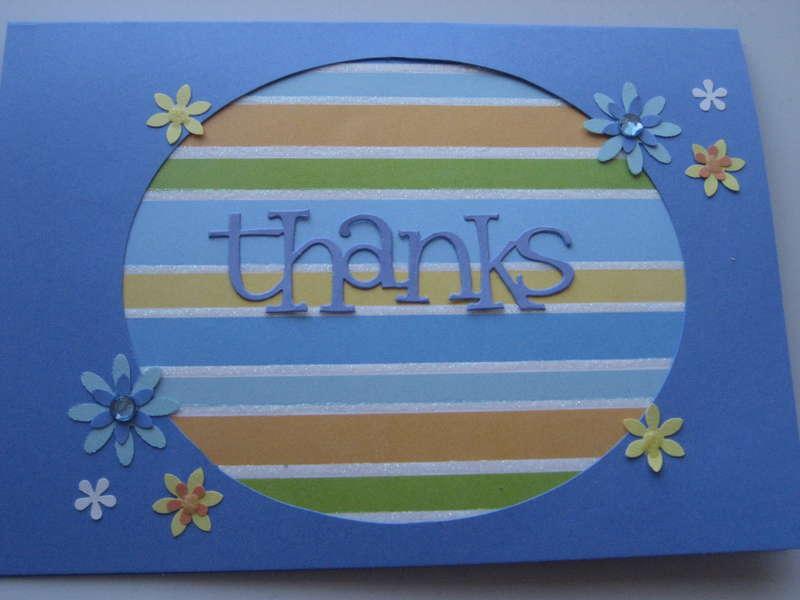 Thanks-Blue/Orange/Green/Yellow