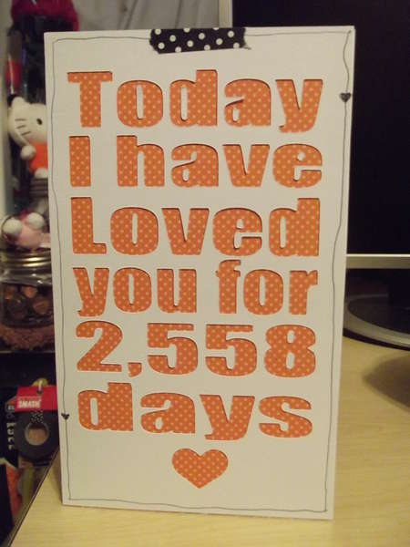 Today I have loved you...