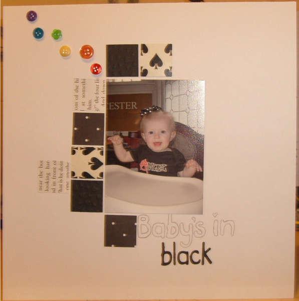 Babys in black