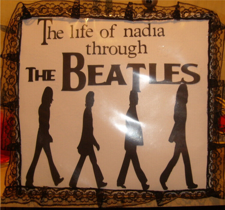 The life of nadia through The Beatles