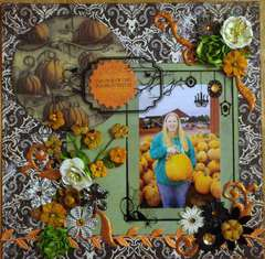 Perfect Pumpkin *Scraps of Darkness* October Kit