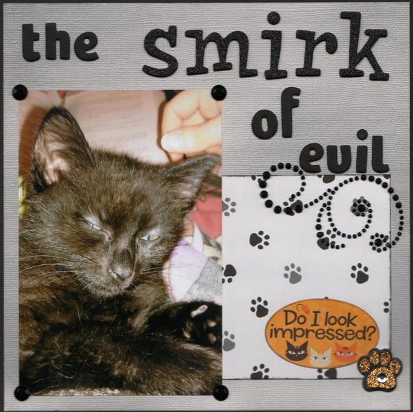 The Smirk of Evil