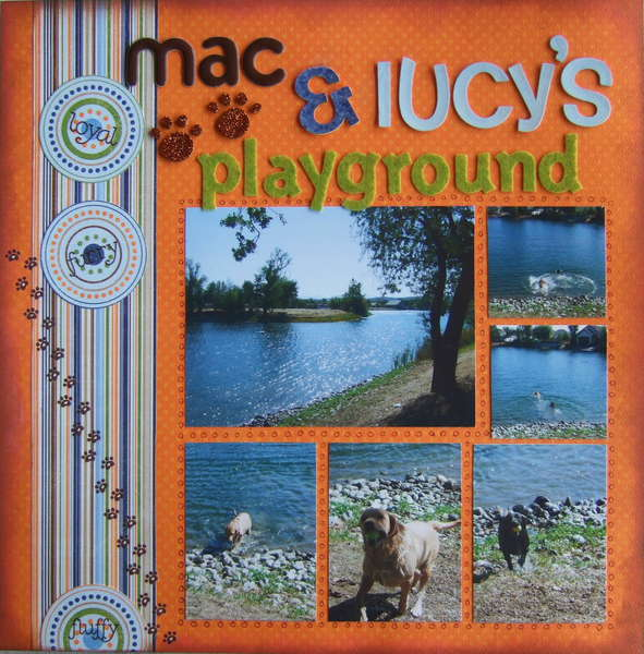 Mac and Lucy's Playground