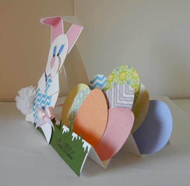 Easter Card side view