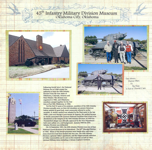45th Infantry Div. Musuem in OKC Oct. 2012