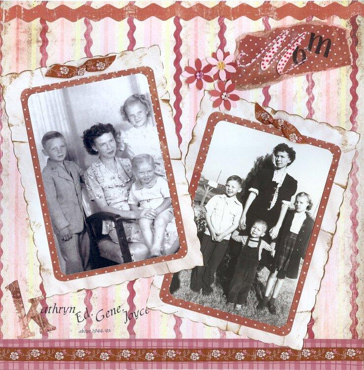 Katherine & children