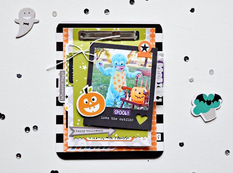 Bella Blvd. Halloween Mini Album