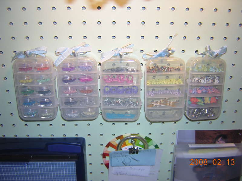 My scrproom haven #10- eyelet storage