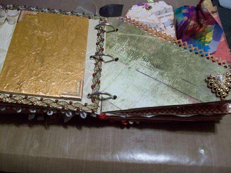Vintage paper bag album