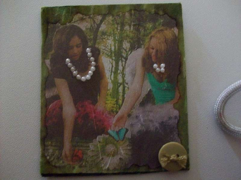 Angels in the Woods ATC
