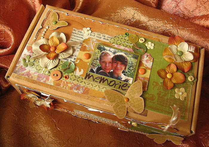 Box full of memories - Inspired by Amelie challenge