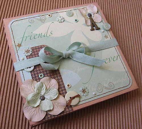 Mini folded album