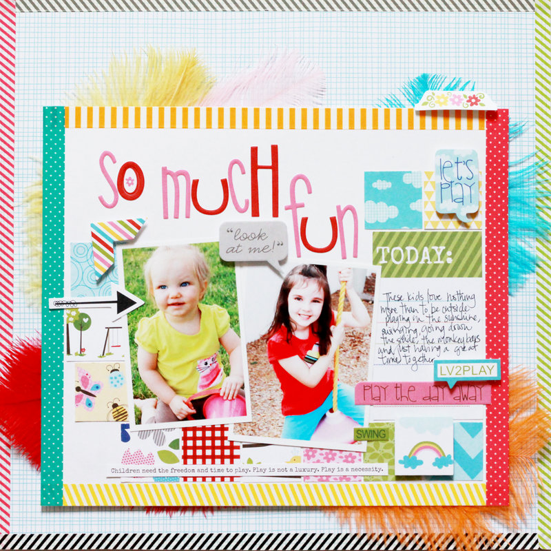 So Much Fun *Brand New Bella Blvd Play Date collection