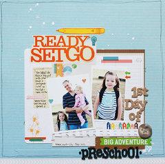 First Day of Preschool *American Crafts