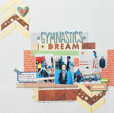 Gymnastics Dream *American Crafts