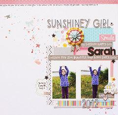 Sunshiney Girl*American Crafts