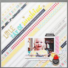 Little Ray of Sunshine *American Crafts