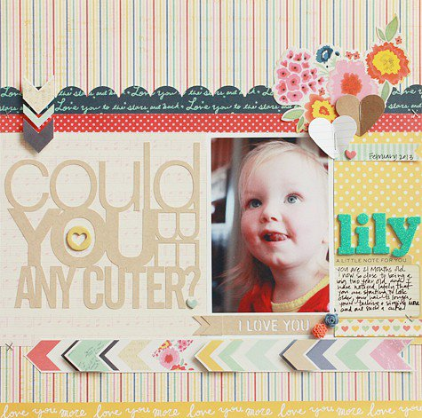 Cute **American Crafts Dear Lizzy Lucky Charm