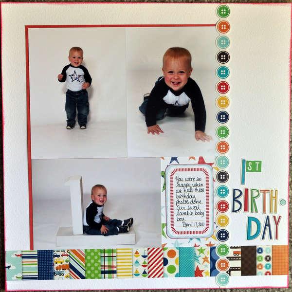 1st birthday -1