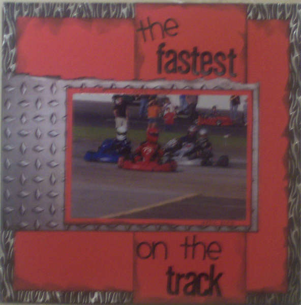 the fastest on the track