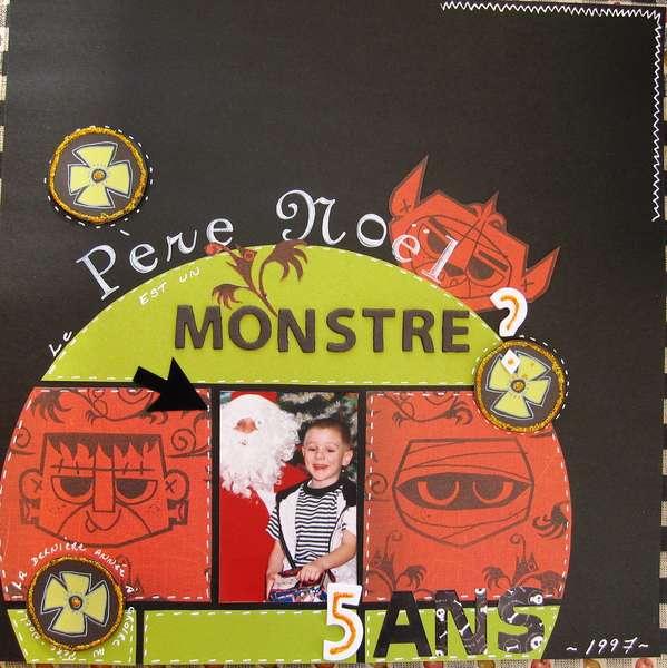 Le Pere-Noel Est Un Monstre?