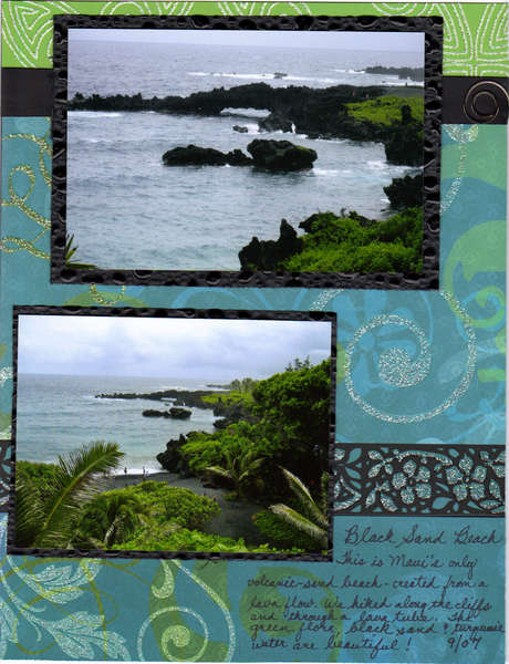 Black Sand Beach page 2