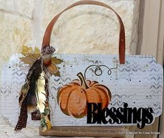 Fall Blessings Plaque