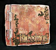 Clear Scraps Cast Acrylic Top Load Album by Rita