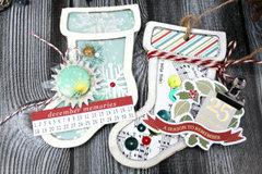 Shaker Stocking Ornaments