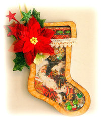 Stocking Shaker Ornament