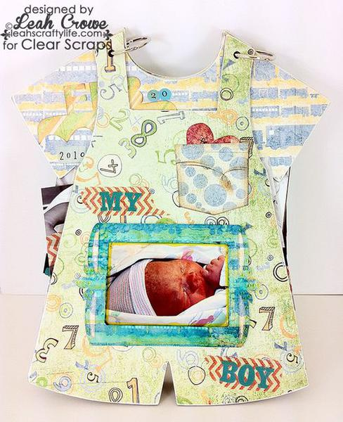 Baby Bib Overall Album by Leah