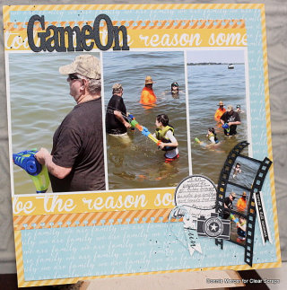 Game On Layout