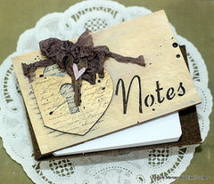 Notes Wooden Card