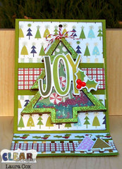 Joy Easel Card