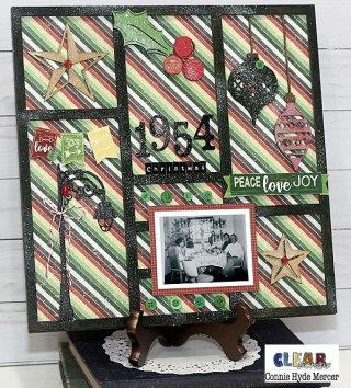 Christmas Printer Tray Frame