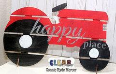 Tractor DIY Pallet Shape