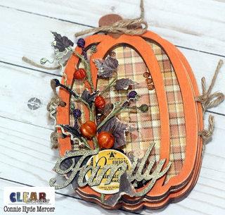 Pumpkin Wood Accordion Shaker Album for Recipes