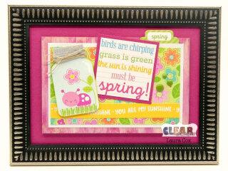 Spring Wood Frame
