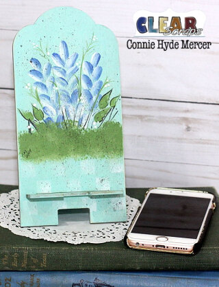 Hand Painted Phone Stand