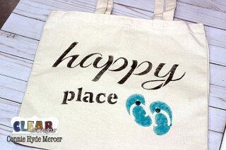 Happy Place Canvas Bag