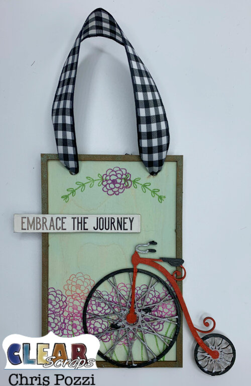 Embrace the Journey Wall Hanging