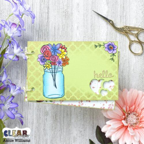 Floral Wood Card