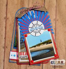 Ahoy There Acrylic Tag Album