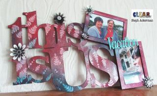 This Is Us Wood XL Word Frame
