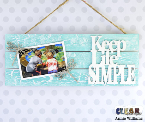 Simple Life Photo Frame Pallet